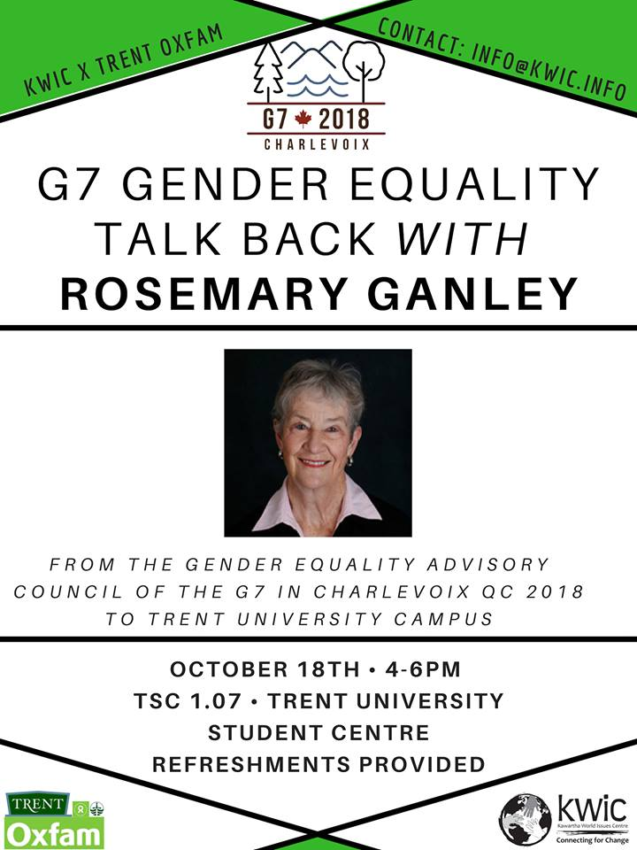 Rosemary Ganley poster