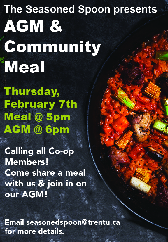 AGM & Community Meal