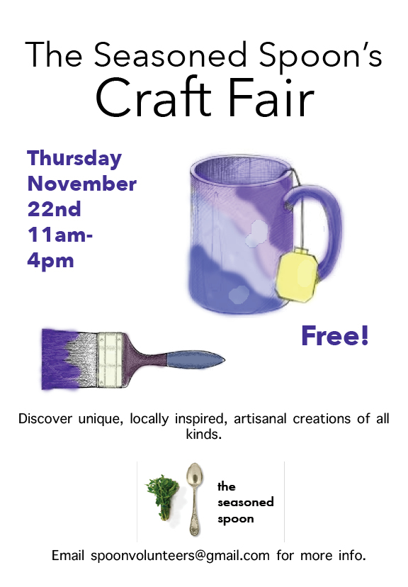 Seasoned Spoon Craft Fair