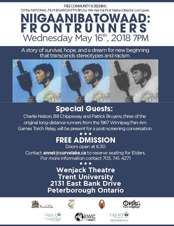 Front Runner Poster