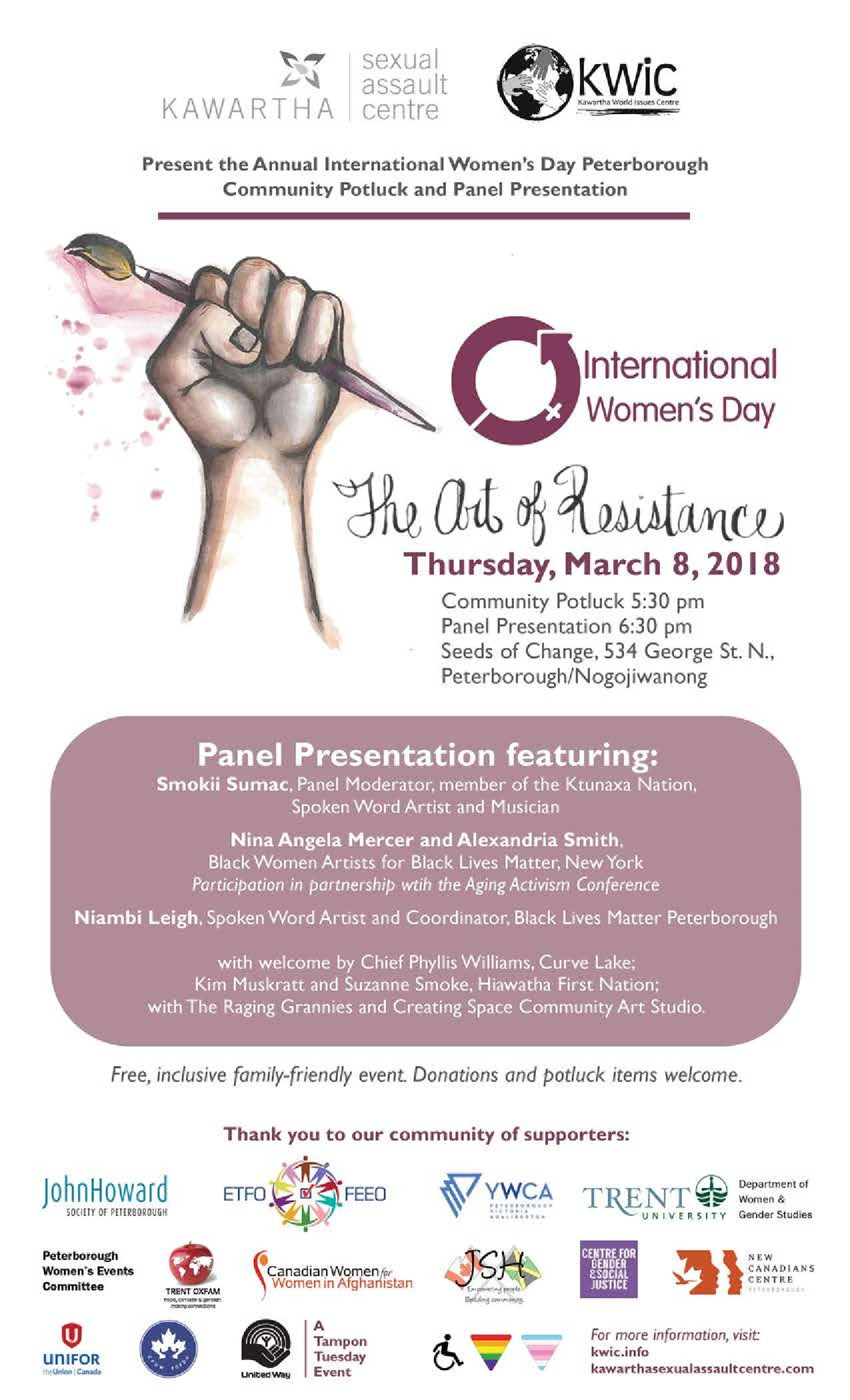 International Women's Day Ptbo