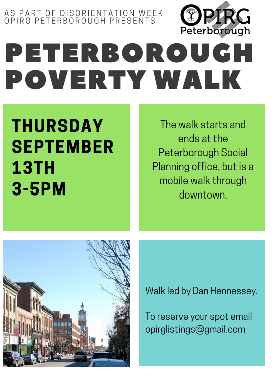 Peterborough Poverty Walk