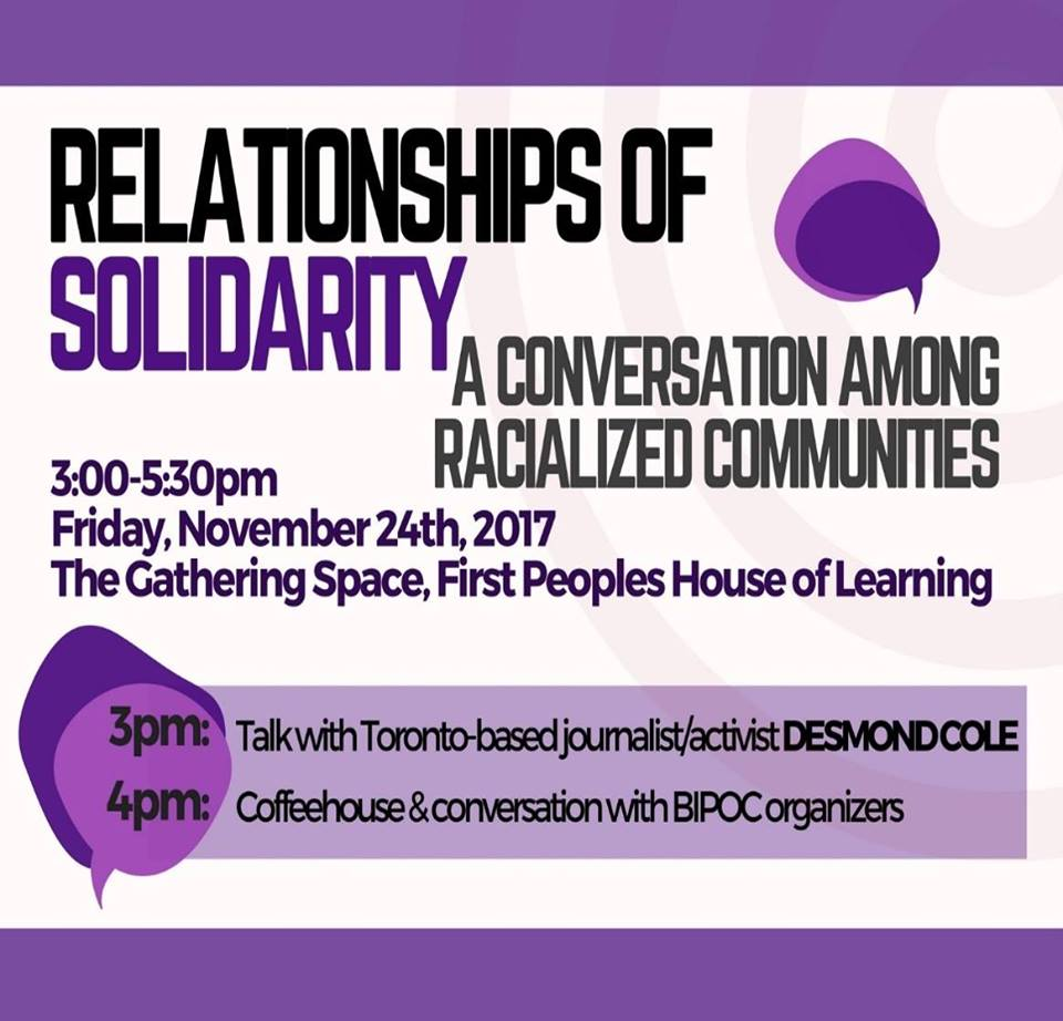 Relationships of Solidarity poster
